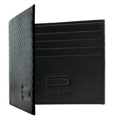 leather wallet carbon fiber