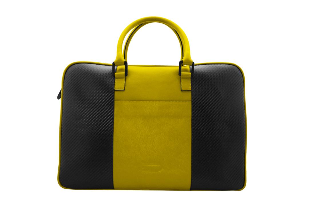 Кожаная сумка Углеродное волокно